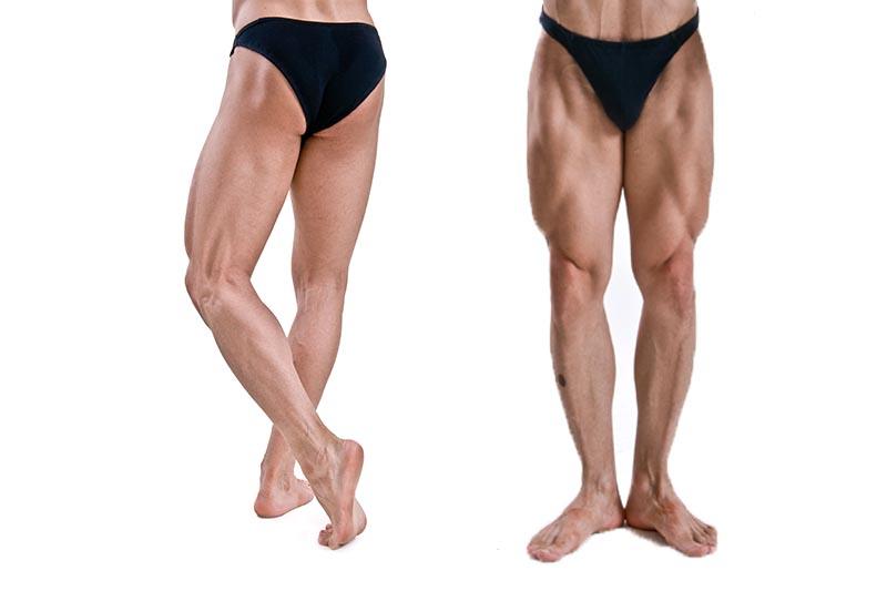 Beine bei männern dünne Sollten sich